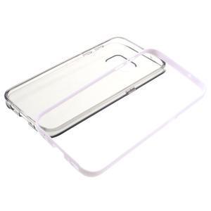 Dvojdielny obal pre mobil Samsung Galaxy S7 - šedý - 6