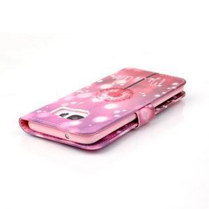 Cross peňaženkové puzdro pre Samsung Galaxy S7 edge - púpava - 6