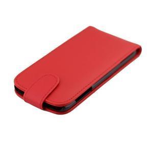 Flipové pouzdro na mobil Samsung Galaxy S7 edge - červené - 6