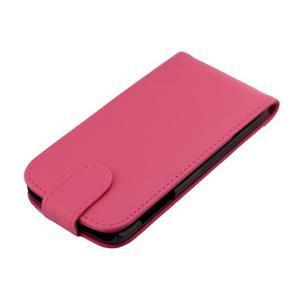 Flipové pouzdro na mobil Samsung Galaxy S7 edge - rose - 6