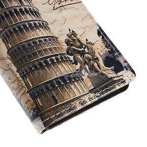 Peňaženkové puzdro pre Sony Xperia M4 Aqua - šikmá veža - 6