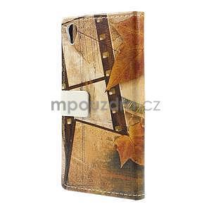 Peňaženkové puzdro pre Sony Xperia M4 Aqua - Eiffel - 6