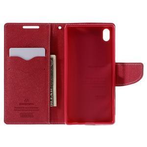 Mercur peněženkové pouzdro na Sony Xperia Z5 - růžové - 6