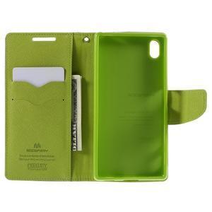 Mercur Peňaženkové puzdro pre Sony Xperia Z5 - tmavomodré - 6