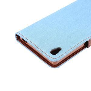 Jeans peněženkové pouzdro Sony Xperia Z5 - světlemodré - 6
