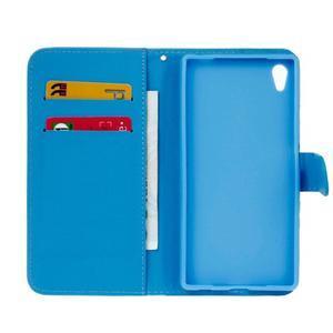 Koženkové puzdro pre mobil Sony Xperia Z5 - dream - 6