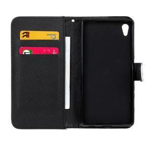 Koženkové puzdro pre mobil Sony Xperia Z5 - sova - 6