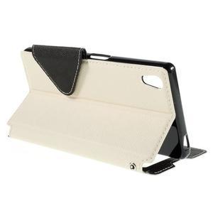 Diary puzdro s okienkom na Sony Xperia Z5 - biele - 6
