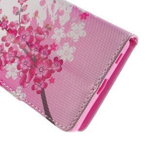 Lovely puzdro pre mobil Sony Xperia Z5 - kvitnúce vetvička - 6