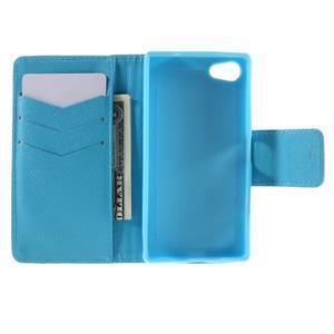 Diary Peňaženkové puzdro pre Sony Xperia Z5 Compact - slon - 6