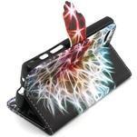 Kelly puzdro pre mobil Sony Xperia Z5 Compact - detail púpavy - 6/6