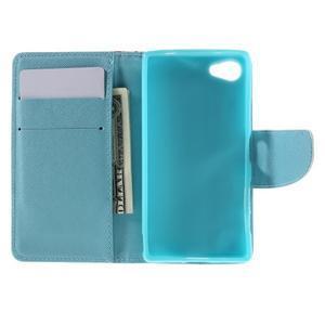 Wally Peňaženkové puzdro pre Sony Xperia Z5 Compact - banda sovičiek - 6