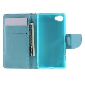 Wally Peňaženkové puzdro pre Sony Xperia Z5 Compact - kamufláž - 6