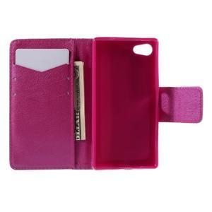 Diary Peňaženkové puzdro pre Sony Xperia Z5 Compact - srdce - 6