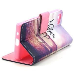 Peňaženkové puzdro pre mobil Sony Xperia Z5 Compact - neprestávaj snívať - 6