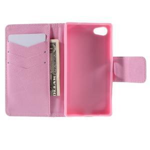Diary Peňaženkové puzdro pre Sony Xperia Z5 Compact - púpavy - 6