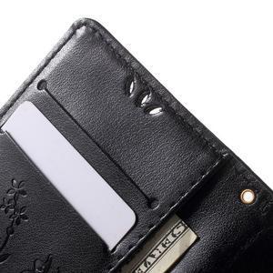 Butterfly Peňaženkové puzdro pre Sony Xperia Z5 Compact - čierne - 6