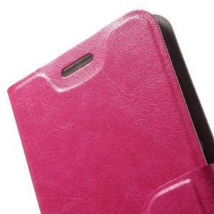 Horse peňaženkové puzdro pre mobil Xiaomi Mi5 - rose - 6