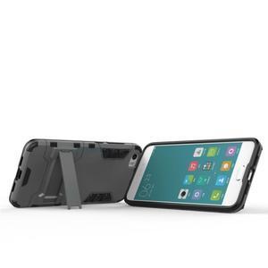 Hybridní odolný kryt pre mobil Xiaomi Mi5 - sivý - 6