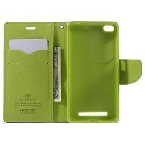 Diary PU kožené pouzdro na mobil Xiaomi Redmi 3 - tmavěmodré - 6