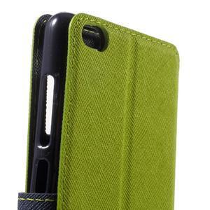 Diary view peněženkové pouzdro na Xiaomi Redmi 3 - zelené - 6