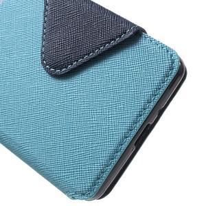 Diary view peněženkové pouzdro na Xiaomi Redmi 3 - světlemodré - 6