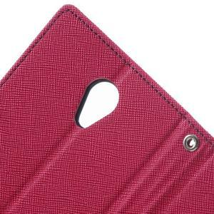 Goos PU kožené pouzdro na Xiaomi Redmi Note 2 - rose - 6