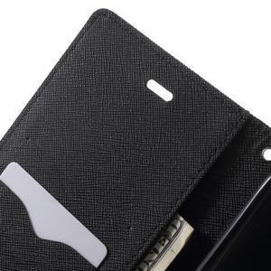 Goos PU kožené puzdro pre Xiaomi Redmi Note 2 - čierne - 6