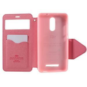 Diary pouzdro s okýnkem na mobil Xiaomi Redmi Note 3  - rose - 6