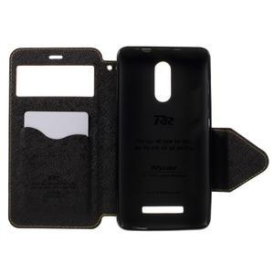 Diary pouzdro s okýnkem na mobil Xiaomi Redmi Note 3  - žluté - 6