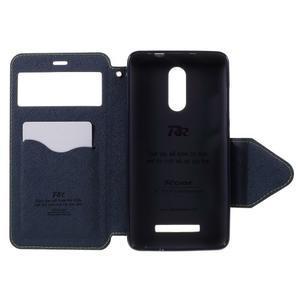 Diary pouzdro s okýnkem na mobil Xiaomi Redmi Note 3  - zelené - 6