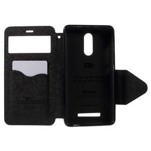 Diary pouzdro s okýnkem na mobil Xiaomi Redmi Note 3  - tmavěmodré - 6