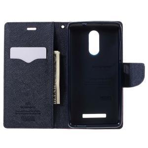 Wallet PU kožené pouzdra na Xiaomi Redmi Note 3 - rose - 6