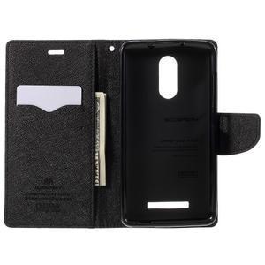 Wallet PU kožené pouzdra na Xiaomi Redmi Note 3 - hnědé - 6