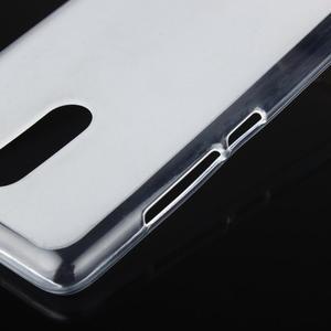 Matný gélový obal pre Xiaomi Redmi Note 3 - biele - 6