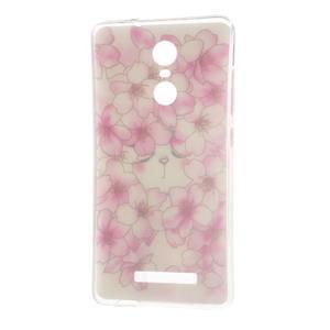 Softy gelový obal na Xiaomi Redmi Note 3 - květy švestky - 6