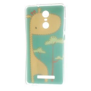 Softy gélový obal pre Xiaomi Redmi Note 3 - žirafa - 6