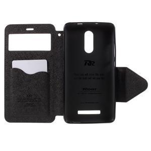 Diary pouzdro s okýnkem na mobil Xiaomi Redmi Note 3  - černé - 6