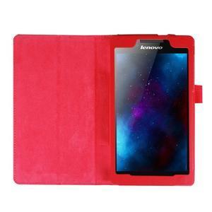 Dvojpolohové puzdro pre tablet Lenovo Tab 2 A7-20 - červené - 6
