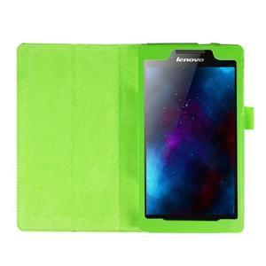 Dvojpolohové puzdro pre tablet Lenovo Tab 2 A7-20 - zelené - 6