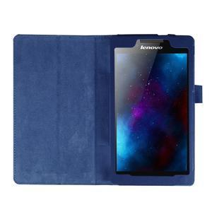 Dvojpolohové puzdro pre tablet Lenovo Tab 2 A7-20 - tmavomodré - 6
