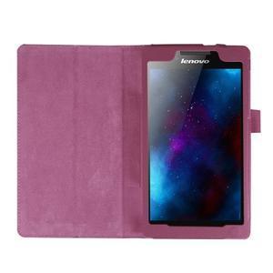 Dvoupolohové pouzdro na tablet Lenovo Tab 2 A7-20 - fialové - 6