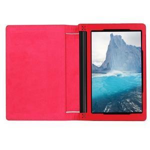 Safe PU kožené pouzdro na tablet Lenovo Yoga Tab 3 8.0 - červené - 6