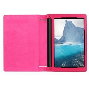 Safe PU kožené puzdro pre tablet Lenovo Yoga Tab 3 8.0 - rose - 6