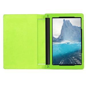 Safe PU kožené puzdro pre tablet Lenovo Yoga Tab 3 8.0 - zelené - 6