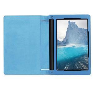 Safe PU kožené puzdro pre tablet Lenovo Yoga Tab 3 8.0 - svetlomodré - 6