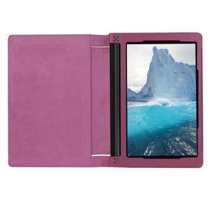 Safe PU kožené pouzdro na tablet Lenovo Yoga Tab 3 8.0 - fialové - 6