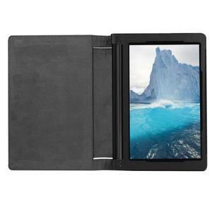 Safe PU kožené puzdro pre tablet Lenovo Yoga Tab 3 8.0 - čierné - 6