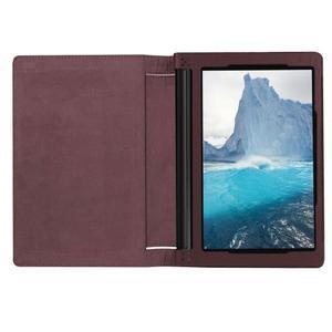 Safe PU kožené pouzdro na tablet Lenovo Yoga Tab 3 8.0 - hnědé - 6