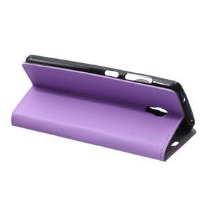 Peněženkové pouzdro na Lenovo Vibe P1 - fialové - 6